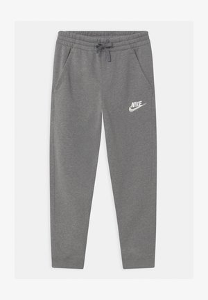 PLUS CLUB - Tracksuit bottoms - carbon heather/cool grey