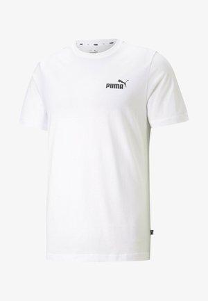 ESS SMALL LOGO TEE - Basic T-shirt -  white