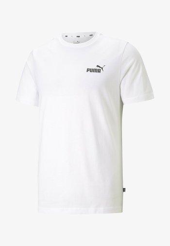 ESS SMALL LOGO TEE - T-shirt basic -  white