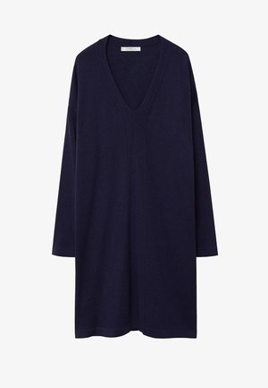 AGORA - Jumper dress - dunkles marineblau