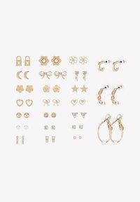 ALDO - REITDIEP 24 PACK - Earrings - gold-coloured - 3