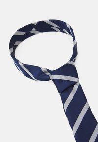 Pier One - 2 PACK - Krawat - dark blue/light blue - 3