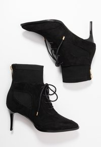 River Island - Lace-up ankle boots - black - 3