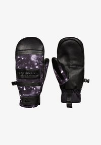Quiksilver - SQUAD  - Mittens - true black woolflakes - 0