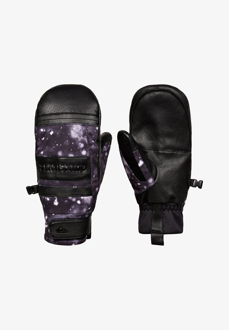 Quiksilver - SQUAD  - Mittens - true black woolflakes