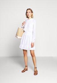 MICHAEL Michael Kors - CLIP DOTS DRESS - Skjortekjole - white - 1