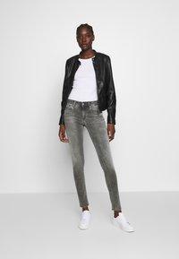Replay - NEWLUZ HYPERFLEX - Jeans Skinny Fit - grey - 1