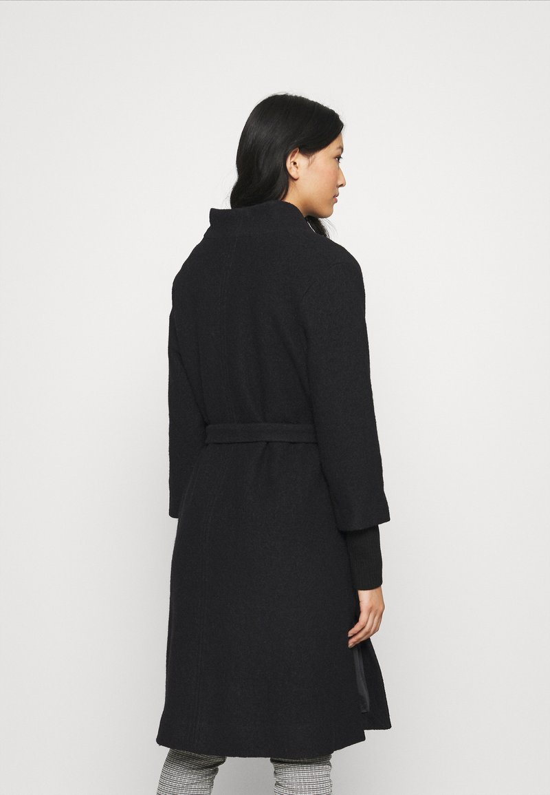 Masai - TERRA - Classic coat - black