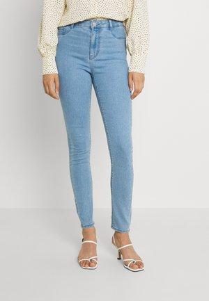 ONLFHI MAX LIFE BOX - Jeans Skinny Fit - light blue denim