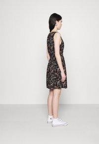 Vero Moda - VMSIMPLY EASY SHORT DRESS - Kjole - black - 2