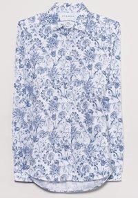 Eterna - MODERN CLASSIC - Button-down blouse - blau/weiß - 3