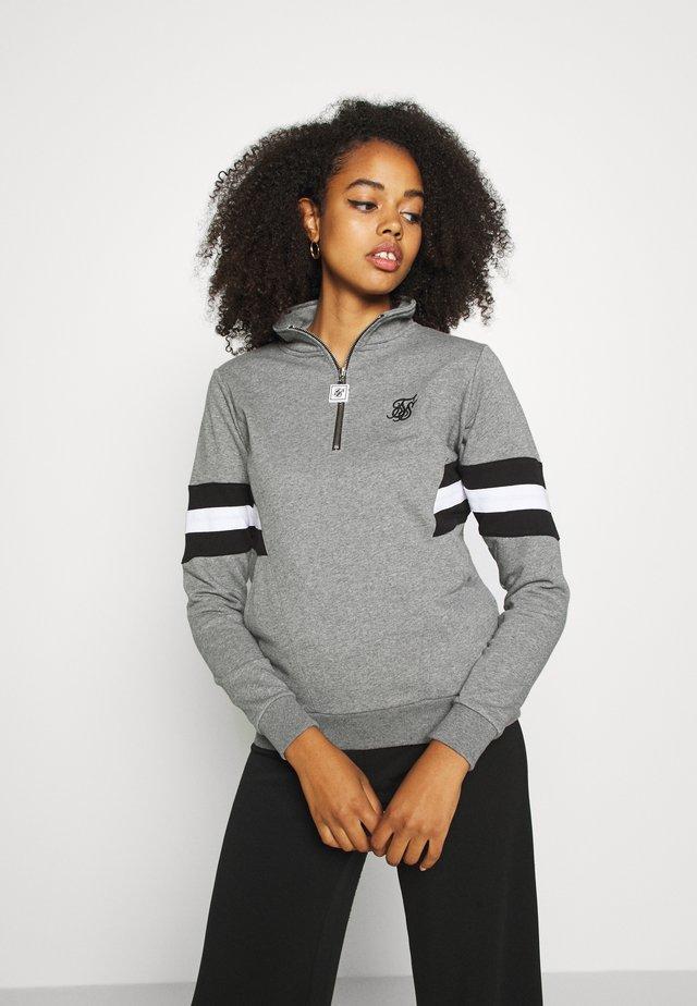 SPORTS LUXE TRACK - Sweatshirt - grey marl