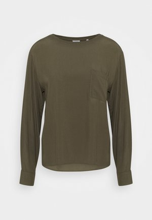 BLOUSE LONGSLEEVE - Camicetta - utility olive