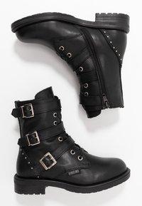 Vingino - MICHELE - Cowboy/biker ankle boot - black - 0