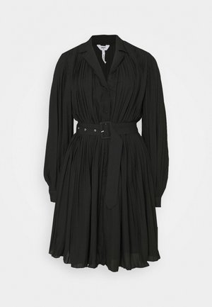 OBJCOSME SHORT DRESS  - Shirt dress - black