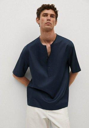 LOU - Skjorta - mørk marineblå