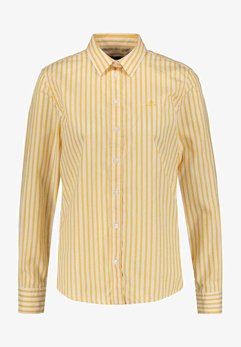 GANT - Button-down blouse - mimosayellow