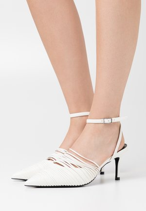 STRAP DETAILED SLINGBACK - Decolleté - offwhite