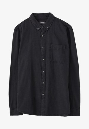 Shirt - mottled black