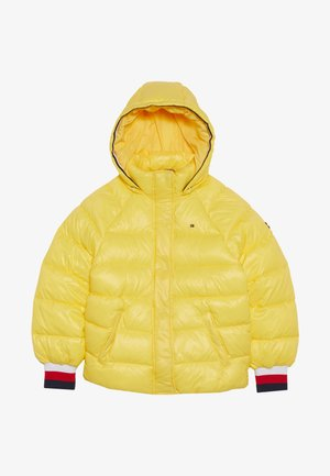 HIGH SHINE PUFFER - Zimní bunda - yellow