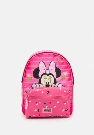 BACKPACK AND PENCIL CASE SET MINNIE - Rugzak - pink