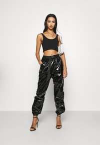 Sixth June - CAGO PANTS - Stoffhose - black - 1