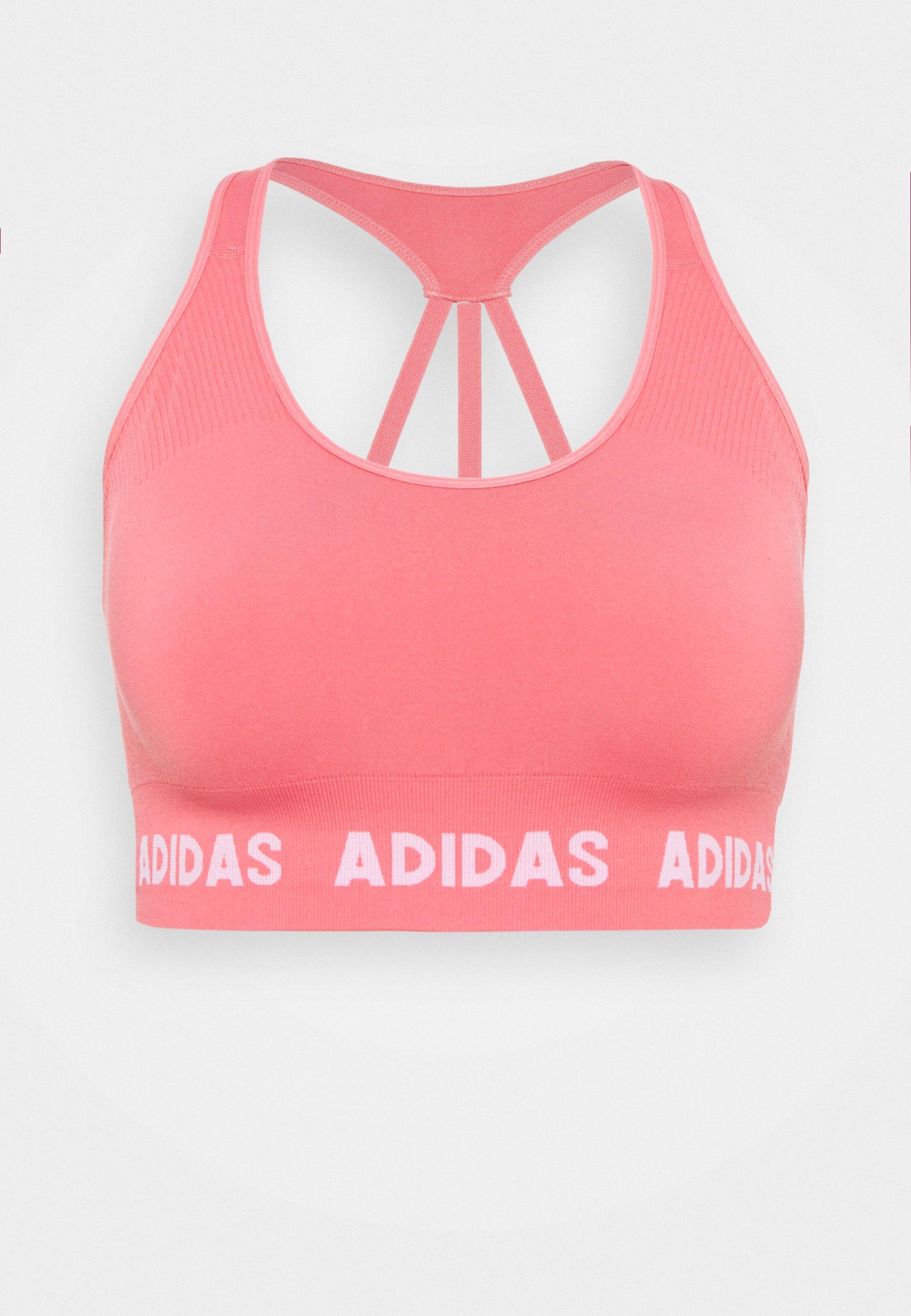 Women AEROKNIT PS TRAINING WORKOUT DESIGNED4TRAINING PRIMEGREEN SPORTS BRA LIGHT SUPPORT FITTED - Light support sports bra