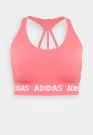 Light support sports bra - hazy rose