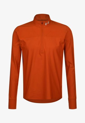 Longsleeve - rich orange / lunar orange