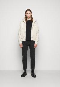rag & bone - DAMON ZIP HOODIE - Winter jacket - ivory - 1