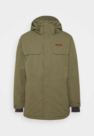 RUGGED PATH - Parka - stone green