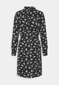 Vero Moda - VMSAGA COLLAR SHIRT DRESS  - Shirt dress - black/dara - 7