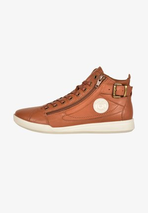 PALME - High-top trainers - camel