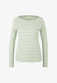green white stripe