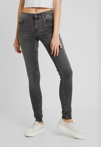 Levi's® - 710 INNOVATION SUPER SKINNY - Jeans Skinny - word on the street - 0