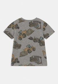 Name it - NMMDONNISO - Print T-shirt - grey melange - 1