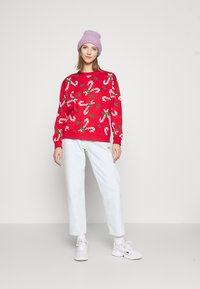 Monki - Sweatshirt - red - 1