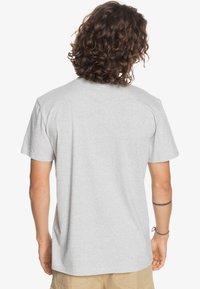 Quiksilver - Print T-shirt - athletic heather - 2
