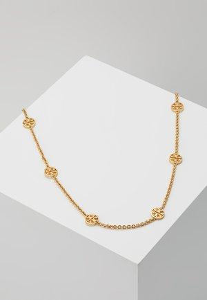 DELICATE LOGO NECKLACE - Collana - gold-coloured
