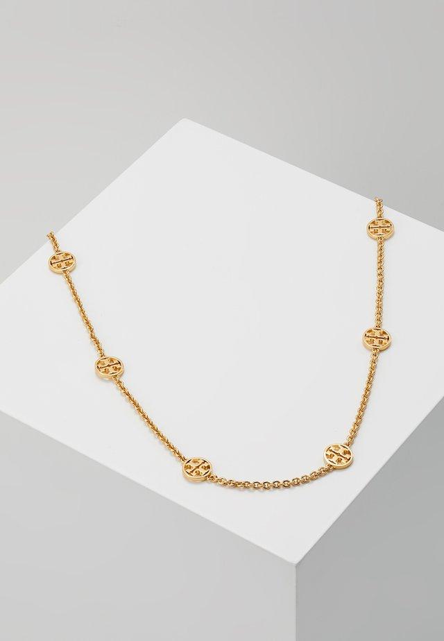 DELICATE LOGO NECKLACE - Necklace - gold-coloured