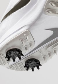 Nike Golf - AIR ZOOM VICTORY - Golfové boty - white/metallic pewter/vast grey/platinum tint - 5
