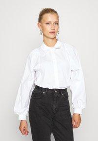 ONLY - ONLNANNA - Button-down blouse - white - 0