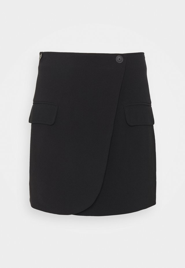 CITRINE SKIRT  - Mini skirt - black
