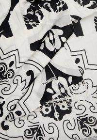 Marc O'Polo - SCARF - Scarf - white/black - 1