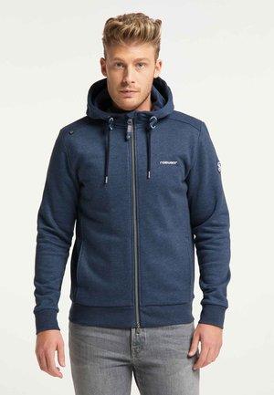 SANEL PROTECT - Zip-up hoodie - navy