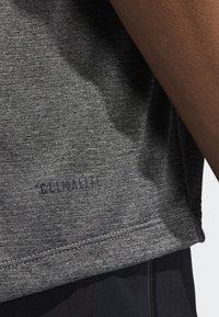 adidas Performance - FREELIFT TECH CLIMACOOL 3-STRIPES TANK TOP - Linne - grey - 6
