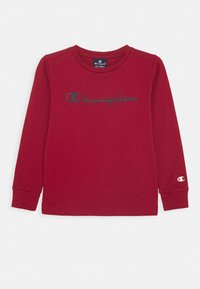 Champion - LEGACY AMERICAN CLASSICS LONG SLEEVE - Long sleeved top - dark red - 0