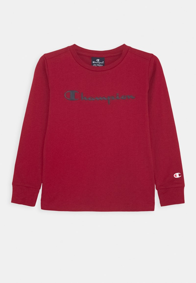 Champion - LEGACY AMERICAN CLASSICS LONG SLEEVE - Long sleeved top - dark red