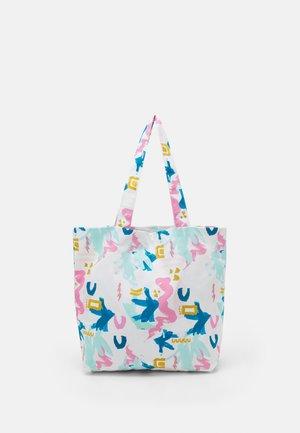 TOTE BAG M  - Tote bag - multi-coloured/light pink