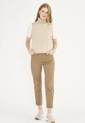 PIPER - Trousers - camel
